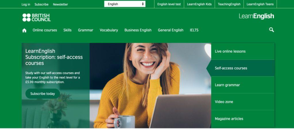 Learn English, British Council